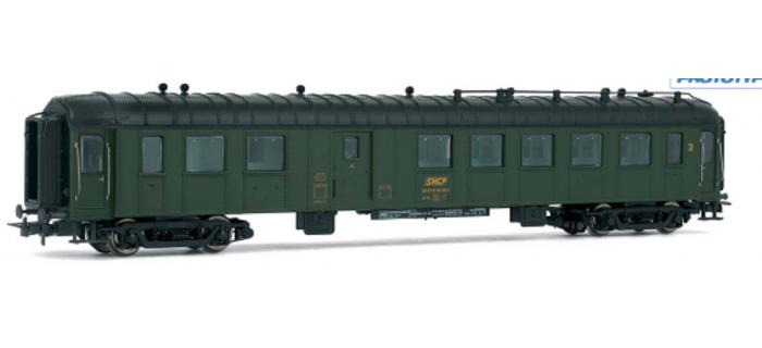 HJ4066 Voiture OCEM 2ème classe fourgon à bagages SNCF * train electrique