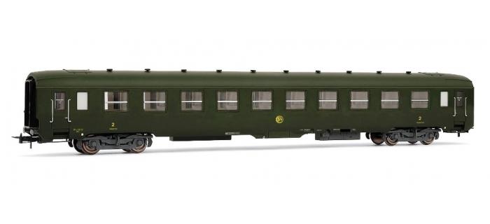 HJ4077 - Voiture DEV A0 de 2nde classe couchettes B10c10