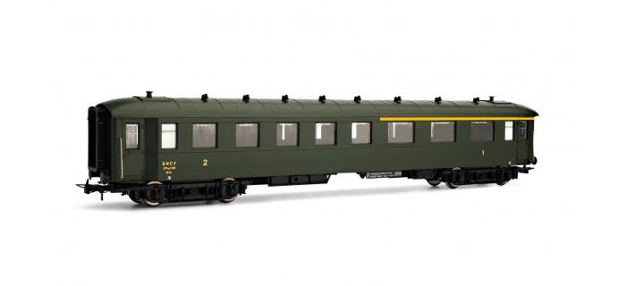 Train électrique : JOUEF HJ4093 - Voiture mixte 1ère/2ème classe ex DR de la SNCF, époque III