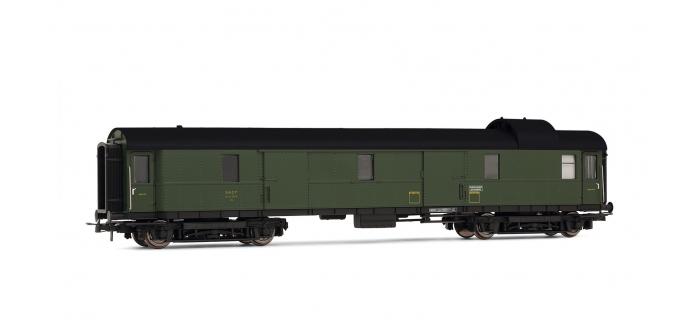 Train électrique : JOUEF HJ4095 - Fourgon ex DR de la SNCF avec vigie, époque III