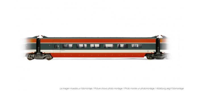Train électrique : JOUEF HJ4106 - Voiture interme?diaire TGV Sud Est 2eme classe livre?e orange