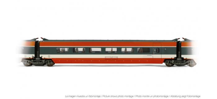 Train électrique : JOUEF HJ4107 - Voiture interme?diaire TGV Sud Est 1ère classe livre?e orange