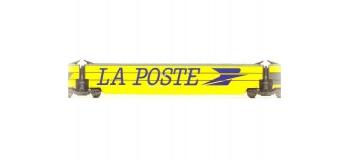 Modélisme ferroviaire : JOUEF HJ4198 - Voiture intermédiaire avec grand logo
