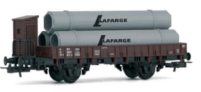 Jouef Junior Line HJ6104 Wagon plat à guérite sans chargement de la SNCF