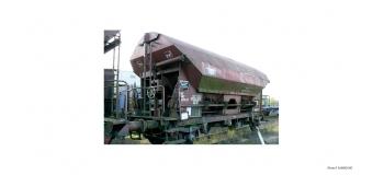 JOUEF HJ 6098 - Wagon trémie type Tds à essieux livrée brun gare d'attache Mulhouse