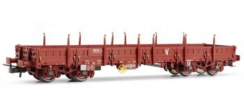 Train électrique : JOUEF HJ6120 - Wagon plat Remms Uas S39 Infra