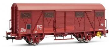 MODELISME FERROVIAIRE  HJ6121 - Wagon couvert G4 à frises
