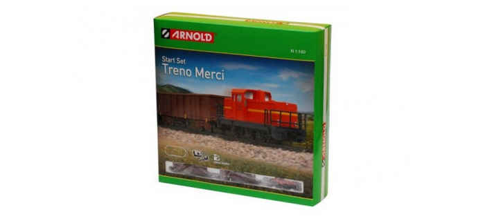 Modélisme ferroviaire : JOUEF HN1005A - Coffret de train Treno Merci
