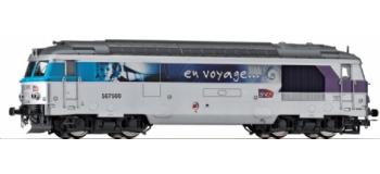 modelisme ferroviaire Jouef HJ2020 Locomotive Diesel BB 67560