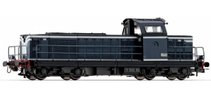 jouef HJ2030 Locomotive Diesel BB 66000, livrée bleu & bandes blanches
