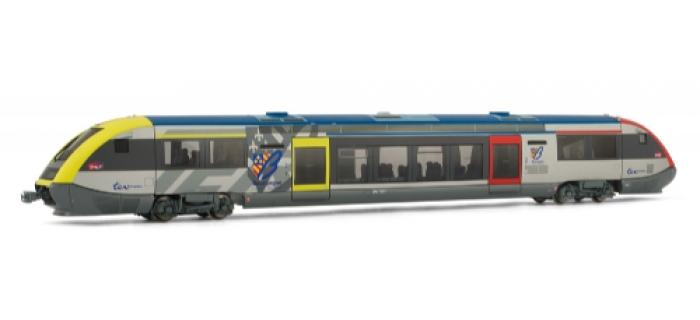 Autorail X 73580, Bourgogne, livrée