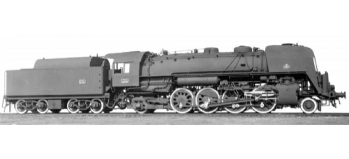 modelisme ferroviaire jouef HJ2073 Locomotive à vapeur 141 R 1187, DC digital sound