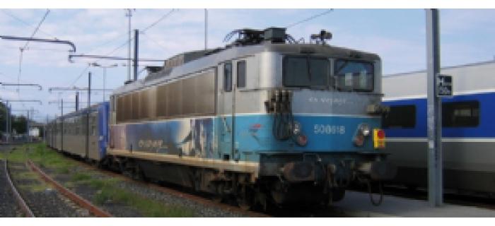 modelisme ferroviaire jouef HJ2079 Locomotive Electrique BB 8518