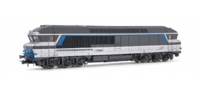 modelisme ferroviaire jouef HJ2129 Locomotive Diesel CC 72006 livrée