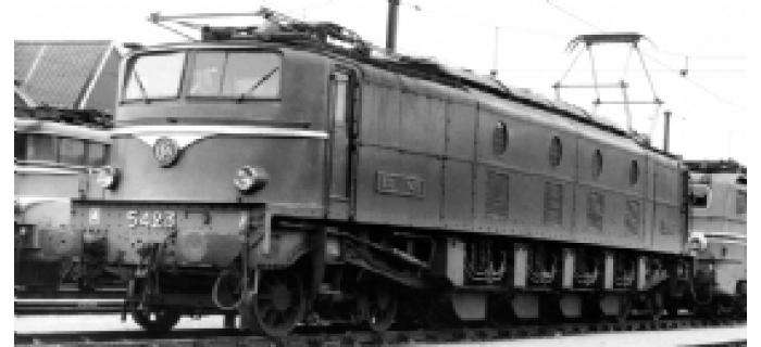 modelisme ferroviaire jouef HJ2136 Locomotive Electrique 2D2 5423 - SNCF, version modernisée
