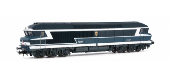 jouef HJ2140 Locomotive Diesel CC 72084, livrée bleue à plaques