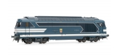 Modélisme ferroviaire  : JOUEF HJ2331 - Locomotive Diesel BB 67000, livrée bleue à plaques, SNCF, DCC, SON