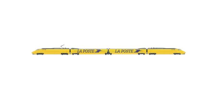 Modélisme ferroviaire : JOUEF HJ2357 - Coffret TGV LA POSTE Livrée