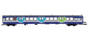 Voiture RIB, 2ème classe SNCF. Livrée
