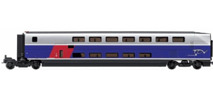 jouef HJ4018 Voitures TGV duplex, Coffret 3 voitures