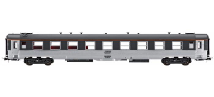 modelisme ferroviaire jouef HJ4020 Voiture bar disco DEV Inox