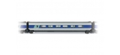 Modélisme ferroviaire :JOUEF HJ4116 - Voiture intermédiaire TGV Sud Est 2ème classe