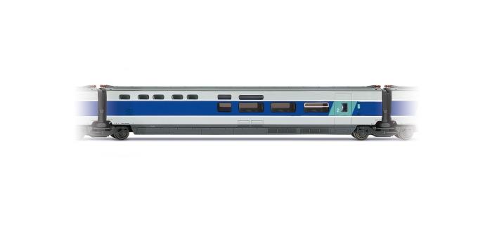 Modélisme ferroviaire : JOUEF HJ4117 - Voiture intermédiaire TGV Sud Est voiture bar