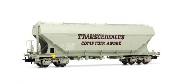 """Train électrique : JOUEF FJ6131 - Wagon ce?re?alier a? parois late?rales planes """"Comptoir Andre?"""", SNCF e?poque IV"""