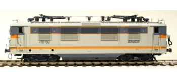Train électrique : LSMODEL - LSM10155 - Locomotive électrique BB 416732 Beton orange Paris la Chapelle