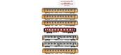 Modélisme ferroviaire : LS Model - MW1701 - Rame complète
