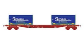 Train électrique :  LS MODELS LSM30319 - Wagon Sgss, Containers