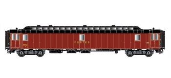 LSM40430 - Voiture OCEM PAz Y16, brun PTT, toit noir, Ep.III - LS Models