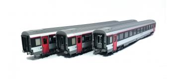 Modélisme ferroviaire : LS Model - LSM40139 - Coffret de 3 voitures VTU Corail