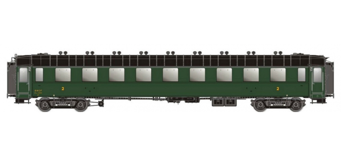 modélisme ferroviaire :  LS MODELS MW40202 - Voiture voyageurs OCEM B9MYFI Ep.III