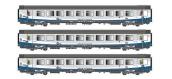 Modélisme ferroviaire : LS Model - LSM40303 - Coffret de 3 voitures VTU TER Interloire Logo Carmillon SNCF