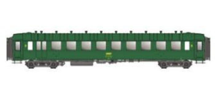 Modelisme ferroviaire : LSMODEL LSM40379 - Voiture voyageur OCEM B10 SNCF