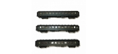 Modélisme ferroviaire : LS Model - MW40397 - Coffret de 3 Voitures OCEM 3ème classe C10