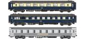 Modélisme ferroviaire : LS Model - LSM41102 - Coffret de 3 voitures