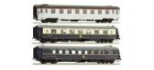 Modélisme ferroviaire :  LS Model - LSM41106 - Coffret de 3 voitures