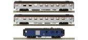 Modélisme ferroviaire : LS Model - LSM41130 - Coffret de 2 voitures Mistral