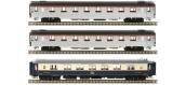 Modélisme ferroviaire :  LS Model - LSM41133 - Coffret de 3 voitures Mistral