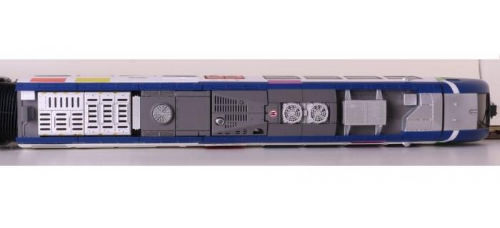 LSM10065 - Autorail AGC B 82535, 4 caisses, logo carmillon, Ile de France - LS Models