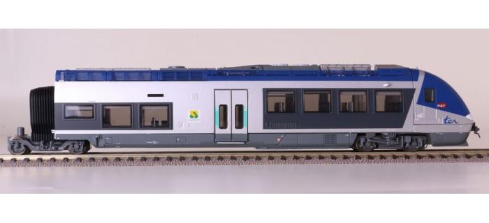 LSM10078 - Autorail AGC X 76600, Champagne Ardenne, 3 caisses - LS Models
