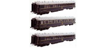 Modélisme ferroviaire : LS Model - LSM49133 - Coffret de 3 voitures type S CIWL livrée bleu 1935