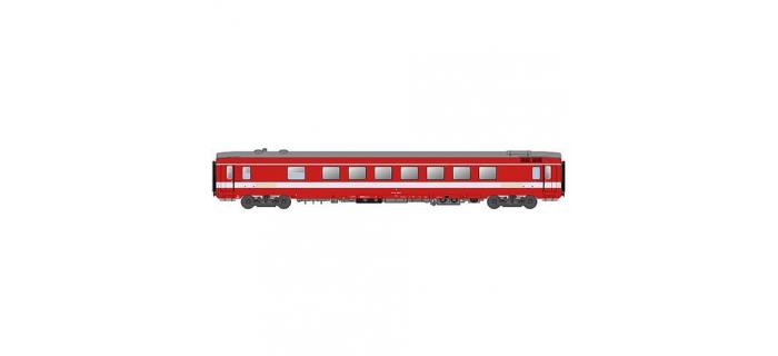 Modélisme ferroviaire : LS MODELS LSM30318 - Voiture restaurant Vru CAPITOLE SNCF (Livrée rouge R37)