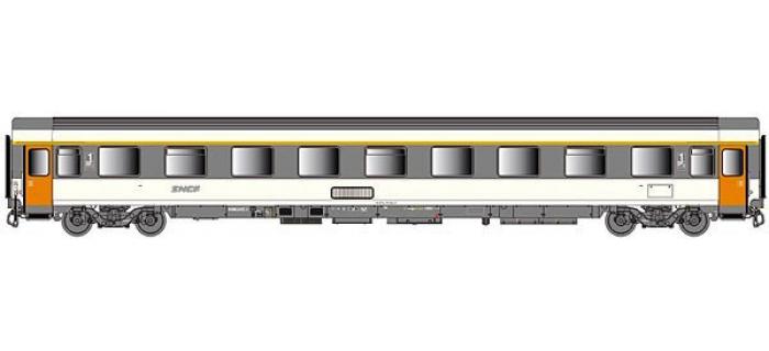 Train électrique : LSMODEL LSM40355 - Voiture VSE A9u corail, logo nouilles, Ep.IV