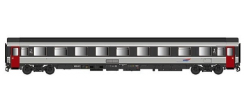 Train électrique : LSMODEL LSM40359 - Voiture Eurofima VSE A9u Ep.V