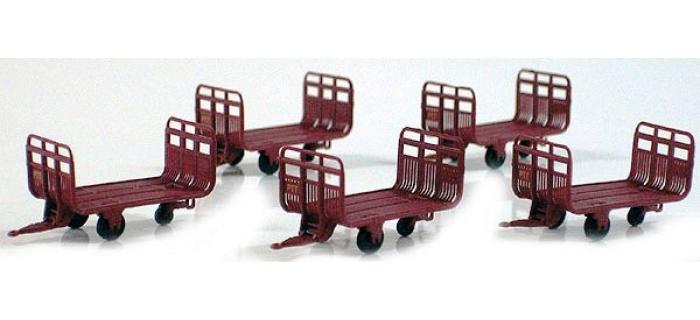 LS MODELS LSM89599 - Set de 5 chariots postaux