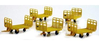 LS MODELS LSM89600 - Set de 5 chariots postaux