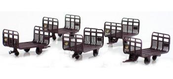 LS MODELS LSM89601 - Set de 5 chariots postaux